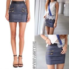 🎉HP🎉🎉Authentic Self portrait biker skirt Brand new sold out everywhere,marked as UK8/US4,⚠️but runs very small,fits size 0-2⚠️,❌NO TRADE‼️ Self Portrait Skirts Mini