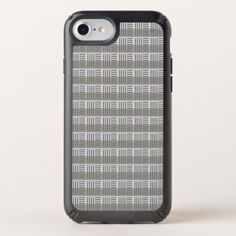 Light Gray striped pattern Speck iPhone Case - pattern sample design template diy cyo customize