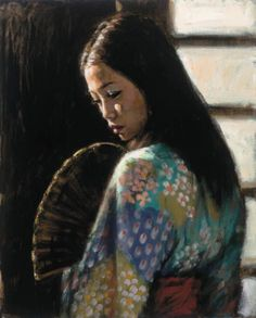 Fabian Perez art gallery, committed to offering great prices to the public. We specialize in Fabian Perez original paintings and limited edition prints. Original Oil Painting, Fabian Perez, Geisha, Culture Art, Painting, Art, Ethereal Art, Original Art Painting, Geisha Art