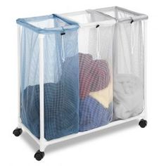 The 3 Section Laundry Clothes Hamper Center is one of those items t...