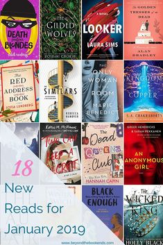 Start your new year off with a bang! These 18 new book releases from debut authors and old favorites in genres across the literary board are all included in this round-up! Ya Books, Book Club Books, I Love Books, Great Books, Book Lists, Reading Books, Reading Lists, Book Nerd, Book Challenge