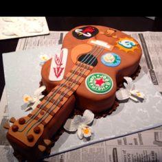 guitar grooms cake (: