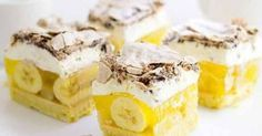 Это не десерт, а чудо! Я и дети просто в восторге! Сливочно-желейный торт с бананами, ананасами и безе. ИНГРЕДИЕНТЫ: Корж: 250 г муки 150 г масла 50 г...