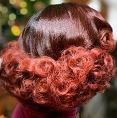Pin Up Hair, Big Hair, Punk Rock Hair, Curly Perm, Halo Hair, Curl Curl, Rockabilly Hair, Medium Curly, Hair Flip