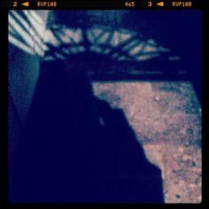 Spooky... #webstagram #picoftheday #statigram #instadaily #spooky #door #shadow #light #reflection #light #portal #hall #scary