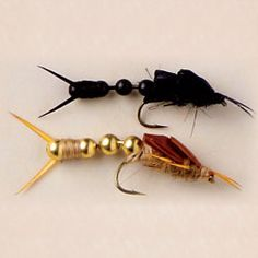I designed this fly for another form of articulated stoneflies. It was the 2010 Feather-Craft Grand Prize winner. Can be purchased @ MyFlies.com