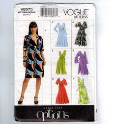 Misses Sewing Pattern Vogue V8575 High by historicallypatterns, $12.50