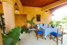 Villa L'Ankarena Terrasse île Sainte Marie Madagascar  Ecolodge le Ravoraha