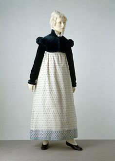 Dress and Spencer 1810-1815 The Victoria  Albert Museum
