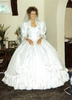Kerry Steeden Couture -1980's bride