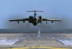 RAF Blackburn Buccaneer in its element; 'gear up', and descend to Operational Height. Military Jets, Military Aircraft, Fighter Aircraft, Fighter Jets, Commonwealth, Blackburn Buccaneer, War Jet, South African Air Force, Military Flights