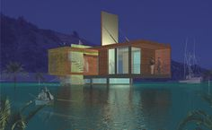 flood proof house by studio peek ancona