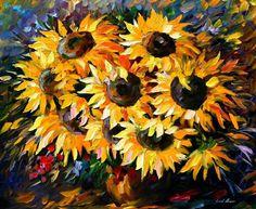 Colorful Impressionist Oil Paintings by Leonid Afremov   Designwrld