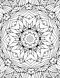 Kostenlose Mandalas Malvorlagen und Ausmalbilder -  Free mandala coloring pages and coloring pages #mandala #mandalas