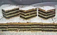 Hasznos cikkek és receptek: MÁKOS ZSERBÓ Hungarian Desserts, Hungarian Recipes, Hungarian Food, Nutella, Stepping Stones, Goodies, Food And Drink, Yummy Food, Sweets