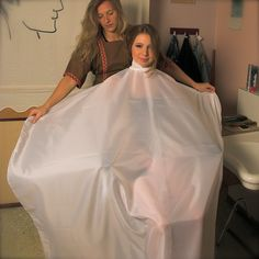 Punishment Haircut, Capes, Hairdresser, Ball Gowns, Hair Cuts, Hair Beauty, Sexy, Formal Dresses, Aprons