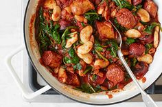 Learn how to make a hearty sausage casserole with our step-by-step recipe online at Tesco Real Food today. It's the perfect family meal.
