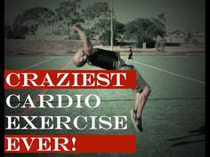 CRAZIEST CARDIO MOVE EVER! (DON'T TRY THIS AT HOME)