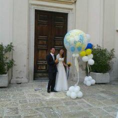 Palloncini per il matrimonio