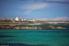 The flat island of Tiree is ideal for a spot of stargazing especially to see Aurora Borealis at this time of year