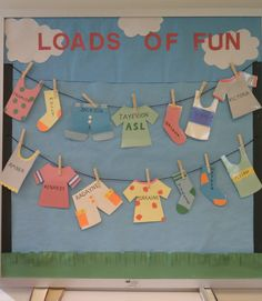 DIY summer bulletin board décor is filled with fun. Browse through some of our cool summer bulletin board ideas to help spruce up your summer classes. Summer Bulletin Boards, Classroom Bulletin Boards, Classroom Door, Preschool Classroom, Classroom Themes, Preschool Activities, Kindergarten, Toddler Classroom, Preschool Bulletin Boards