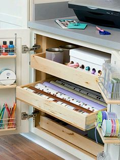 Craft Room: Great drawers or: files? for scrap book paper??  scrap book doodads?  extra fabric? Ribbon? Cross-stitch fabric and floss?