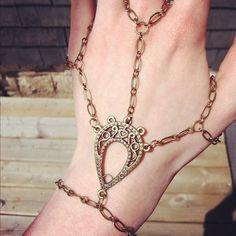 KAHcreations bronze slave bracelet