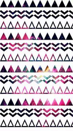 Triangulos rosas