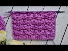 Baby Knitting Patterns, Knitting Stitches, Knit Baby Dress, Knitting Videos, Dots, Knitting Socks, Knitting Patterns, Loom Knitting Stitches, Knit Stitches