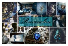 """""""Or yet in wise old Ravenclaw..."""" by thewizardingworld ❤ liked on Polyvore featuring art"""
