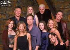 Buffy Cast and Joss Whedon