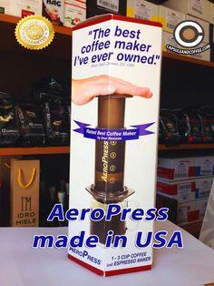 L'AEROPRESS è uno dei metodi più diffusi al mondo per l'estrazione del caffè di qualità. Un metodo di infusione microfiltrata che esalta gli aromi e i sapori, riducendo l'acidità e il retrogusto amaro.  Dagli Stati Uniti al Capsule & Coffee Shop Fano Gli specialisti del caffè Viale Veneto 87 tel 0721-823785  #capsuleandcoffee #capsule #cialde  #Fano #Pesaro #aeropress #caffè #infusione #glispecialistidelcaffè