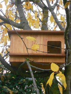 Caja nido para lechuzas tratada par la intemperie