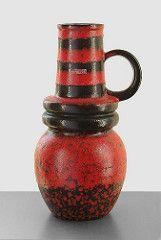 Scheurich 428-48 - Floor Vase (Fat Lava Wadersloh) Tags: wien west lava fat german pottery 48 428 wgp scheurich