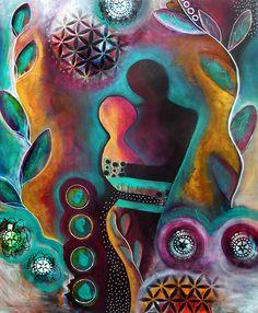 Grow With Me  Original Contemporary by TaraCatalanoStudios on Etsy, $555.00