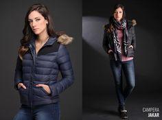 La Campera Jakar es una razón más para amar el #invierno. Liviana, elegante y muy abrigada. Encontrala en 5 talles