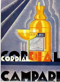 By Nicolay Diulgheroff, 1 9 3 5, Cordial Campari.