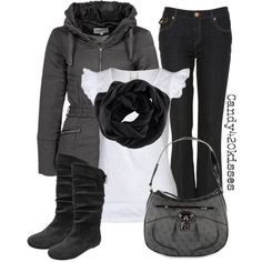 """""""grey"""" by candy420kisses on Polyvore"""
