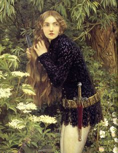 chateauxdanslair: Eleanor Fortescue Brickdale: The Little Foot Page