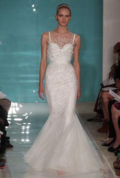 Colección de vestidos de novia de Reem Acra 2013