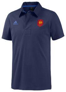 Polo Rugby FFR SO  Bleu - Adidas