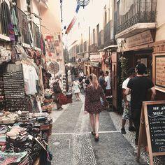 #marakesh #granada #andalucia #albacin #alhambra #holidays #dress #honeymoon