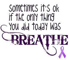 Cystic Fibrosis Awareness <3 Perfect for my sons uncle! love you ABOB!
