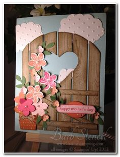 Hardwood Gate by bstencel - Cards and Paper Crafts at Splitcoaststampers