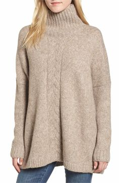 Main Image - French Connection Ora Mock Neck Sweater