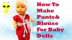 👖 Pants Super Easy DIY 👚Pants And Shit Sewing Project for Beginners Baby... Diy Tutu, Easy Crafts For Kids, Sewing Projects For Beginners, Diy Dress, Diy Shirt, Diy Doll, Diy Clothes, Baby Dolls, Cute Pictures