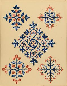 """Image from page 87 of """"Floriated ornament: a series of thirty-one designs"""" (1849) 