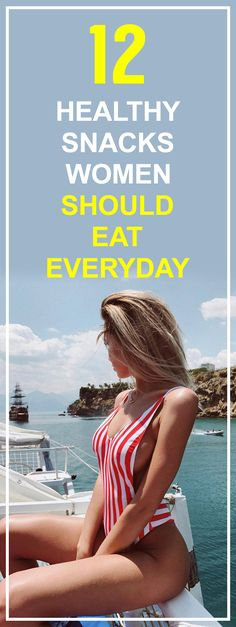STOP! Don't Eat Anything Until You've Seen These 12 Incredible Healthy Snacks Women MUST Eat To Lose Weight!