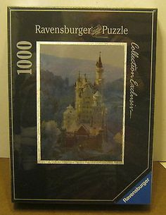 1994 Ravensburger COLLECTION EXCLUSIVE Jigsaw Puzzle NEUSCHWANSTEIN Castle NEW!! - http://hobbies-toys.goshoppins.com/puzzles/1994-ravensburger-collection-exclusive-jigsaw-puzzle-neuschwanstein-castle-new/