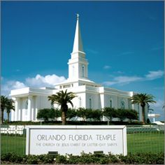 Orlando Temple, where Kenneth and I were sealed Feb 3rd, 2006.